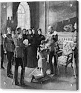 Edward Vii (1841-1910) Acrylic Print