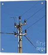 Electric Pylon Acrylic Print