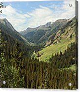 Engineer Pass In Colorado  Acrylic Print