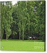 English Garden Munich Germany Acrylic Print