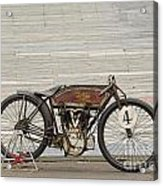 Excelsior Board Track Racer II Acrylic Print