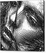 Facial Expressions Acrylic Print