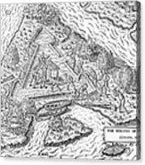 Fort Caroline, 1564 Acrylic Print