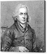 Francis Asbury (1745-1816) Acrylic Print