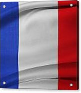 French Flag  Acrylic Print
