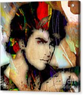 George Michael Collection Acrylic Print