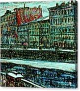 Griboyedov Canal Acrylic Print