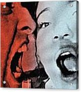 Grunge Acrylic Print