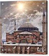 Hagia Sophia Istanbul Acrylic Print