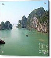 Halong Bay In Vietnam Acrylic Print