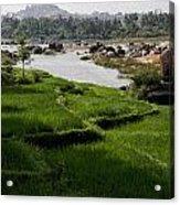 Hampi Landscape Acrylic Print
