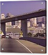 Heading Into The Busy Part Of San Francisco Acrylic Print