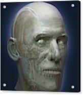 Human Head Acrylic Print