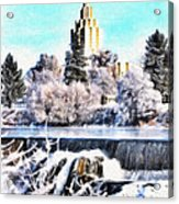 Idaho Falls Temple Acrylic Print