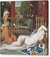 Ingres, Jean-auguste-dominique Acrylic Print