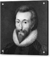 John Donne (1572-1631) Acrylic Print