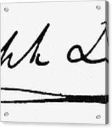 Joseph Lister (1827-1912) Acrylic Print