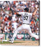 Kansas City Royals V Detroit Tigers Acrylic Print