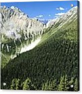 Kindersley Pass Acrylic Print