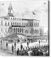 Lincoln's Funeral, 1865 Acrylic Print