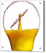 Liquid Coronet  Acrylic Print