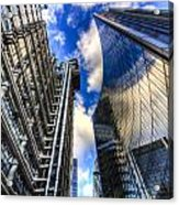 Lloyd's And Willis Group London Acrylic Print