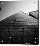 looking up at the shard building London England UK Acrylic Print