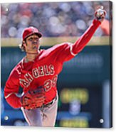 Los Angeles Angels Of Anaheim V Detroit Acrylic Print