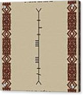 Maccabe Written In Ogham Acrylic Print