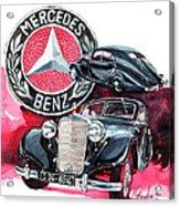 Mercedes Benz 320 Streamline Acrylic Print