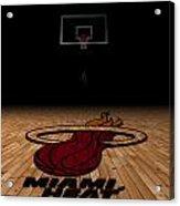 Miami Heat Acrylic Print