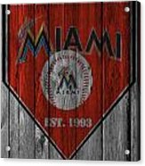 Miami Marlins Acrylic Print