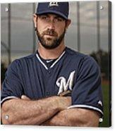 Milwaukee Brewers Photo Day Acrylic Print