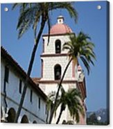 Old Mission Santa Barbara Acrylic Print