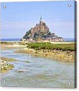 Mont Saint-michel - Normandy Acrylic Print