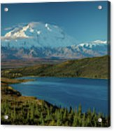 Mount Denali, Previously Known Acrylic Print