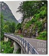 Mountain Road Acrylic Print