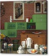My Art In The Interior Decoration - Elena Yakubovich Acrylic Print by Elena Yakubovich