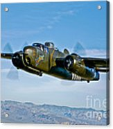 North American B-25g Mitchell Bomber Acrylic Print