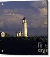 Northhead Ilwaco Lighthouse Acrylic Print