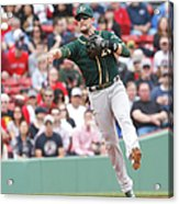 Oakland Athletics V Boston Red Sox 4 Acrylic Print