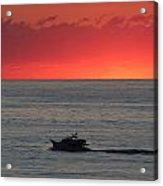 Ocean City Md Sunrise Acrylic Print