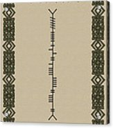 O'connor Written In Ogham Acrylic Print