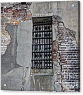 Vintage Jail Window Acrylic Print