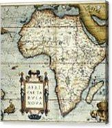 Ortelius, Abraham 1527-1598. Theatrum Acrylic Print