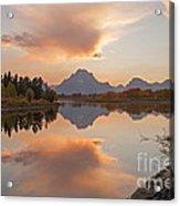 Oxbow Bend Grand Teton National Park Acrylic Print