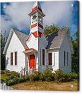 Oysterville Church Acrylic Print