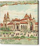 Pan-american Exposition Acrylic Print