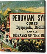 Patent Medicine Acrylic Print