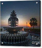Charleston Sunrise  Acrylic Print